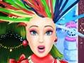 Barbie Xmas Haircuts
