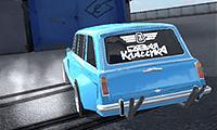 Drift-Rennen: Russischer Lada