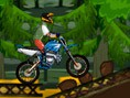 Dschungel -Motocross