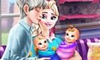 Eiskönigin-Zwillinge: Familientag