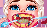 Eisprinzessin: Besuch beim Zahnarzt
