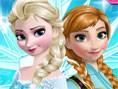 Frozen Sisters Dress Up