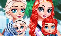 Prinzessinnen: Unterwegs mit dem Baby