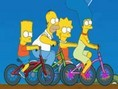 Simpsons Bike Race